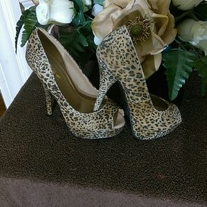 Alba Cheetah print heels